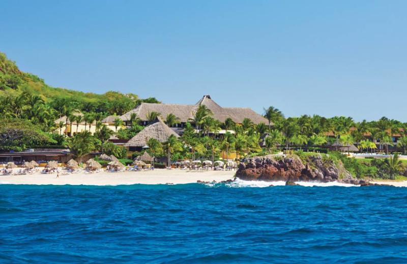 Exterior view of Four Seasons Resort Punta Mita.