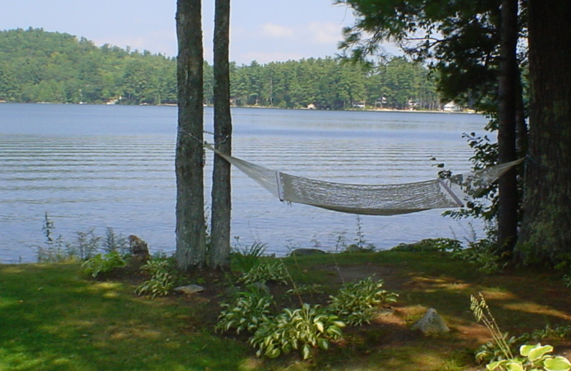 Hammock at Highland Lake Resort.