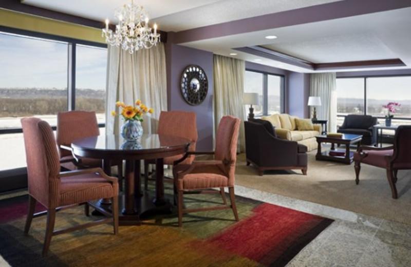 Suite at Treasure Island Resort & Casino.