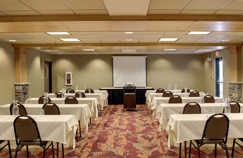 Conference room at Holiday Inn Express Brainerd.