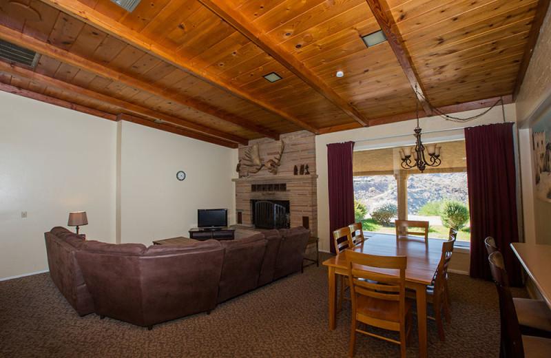 Guest living room at Havasu Springs Resort.