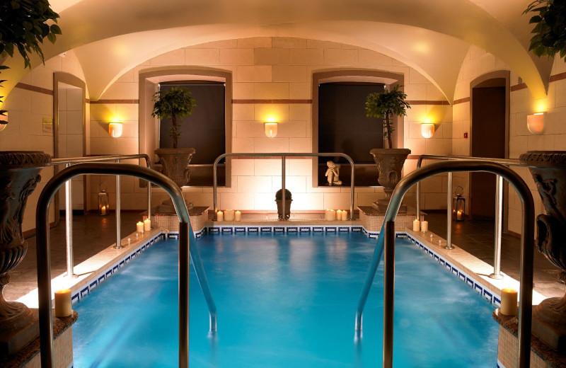 Spa pool at Faithlegg House Hotel & Golf Club.