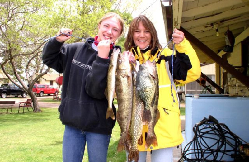 Fishing at Four Seasons Resort.