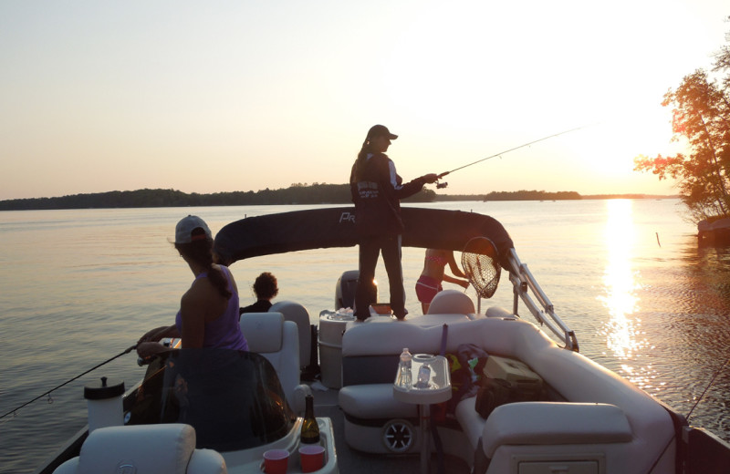 Fishing at Big Sandy Lodge & Resort.