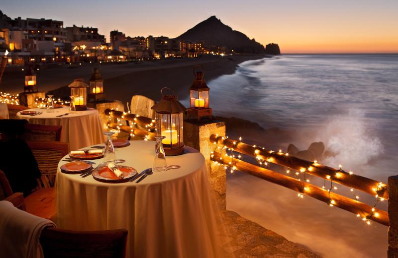 Dining at Capella Pedregal.