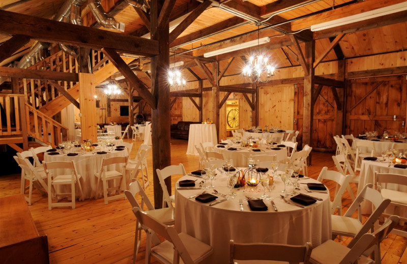 Wedding reception at Buttermilk Falls Inn & Spa.