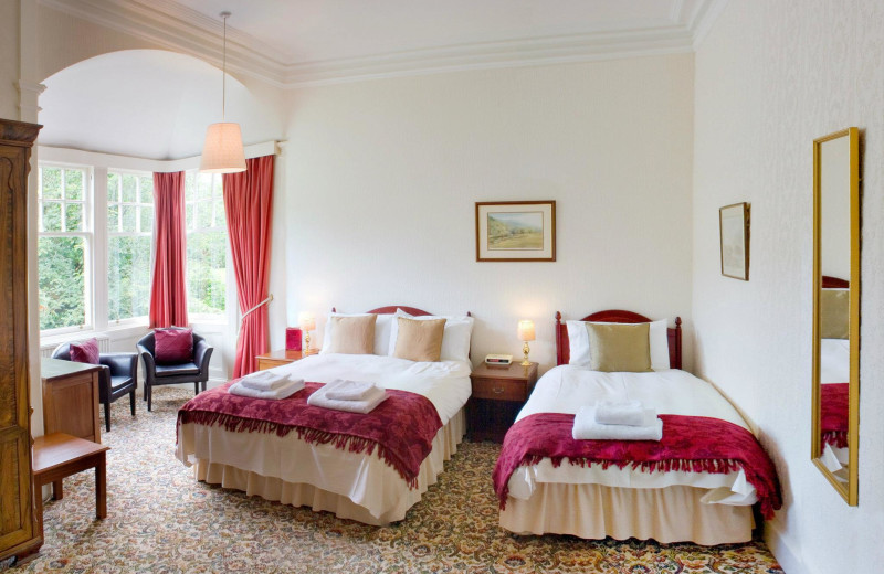 Guest room at Hartfell House.