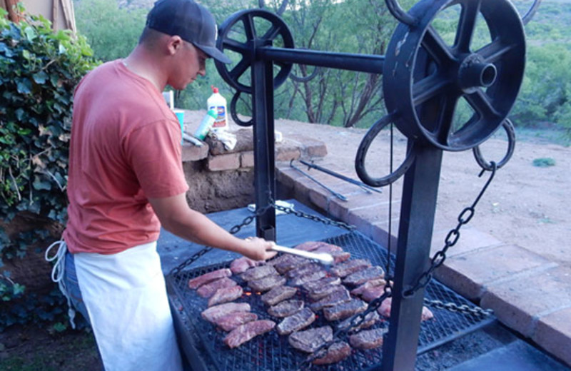 Cookout at Circle Z Ranch.