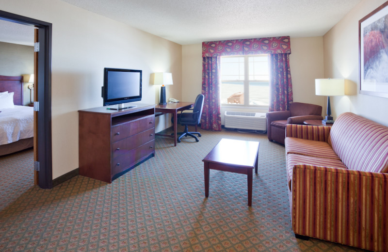 Guest suite at Hampton Inn Duluth.