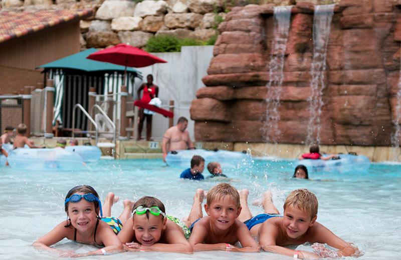Outdoor pool at Chula Vista Resort.
