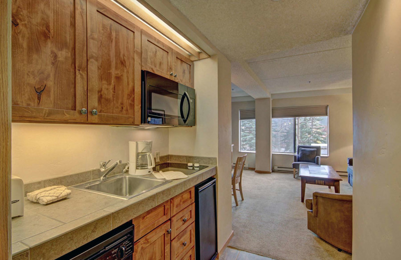 Guest kitchen at Beaver Run Resort & Conference Center.