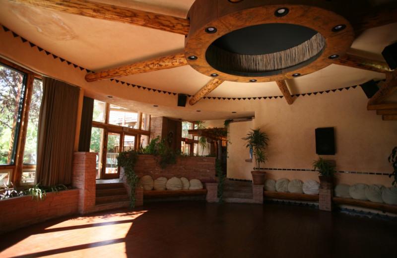 Interior view of Chipeta Solar Springs Resort.