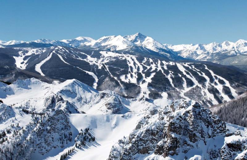 Ski slopes at SkyRun Vacation Rentals - Vail, Colorado.