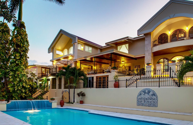Exterior view of San Ignacio Resort Hotel.