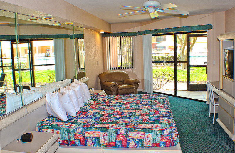 Guest bedroom at Westgate Vacation.