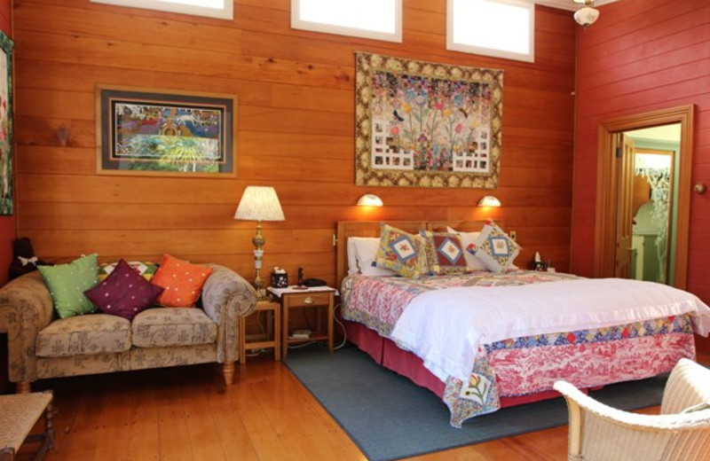 Guest room at Ounuwhao.