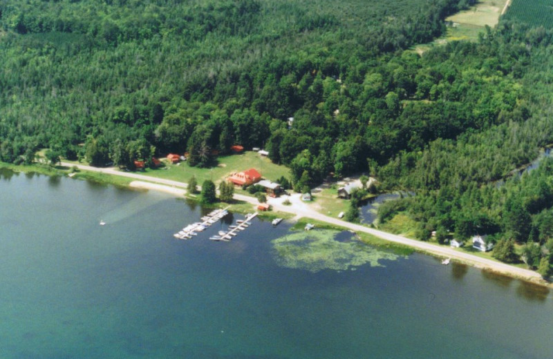 Aerial View of Opeongo Mountain Resort