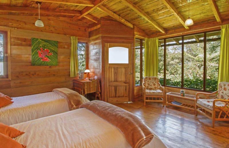 Guest room at Cabañas San Isidro.