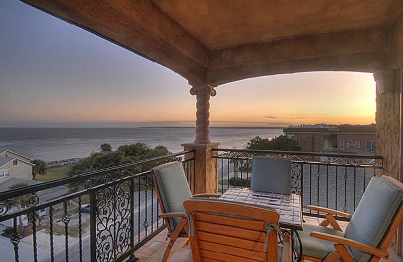 Ocean Patio View ta Ocean Lodge