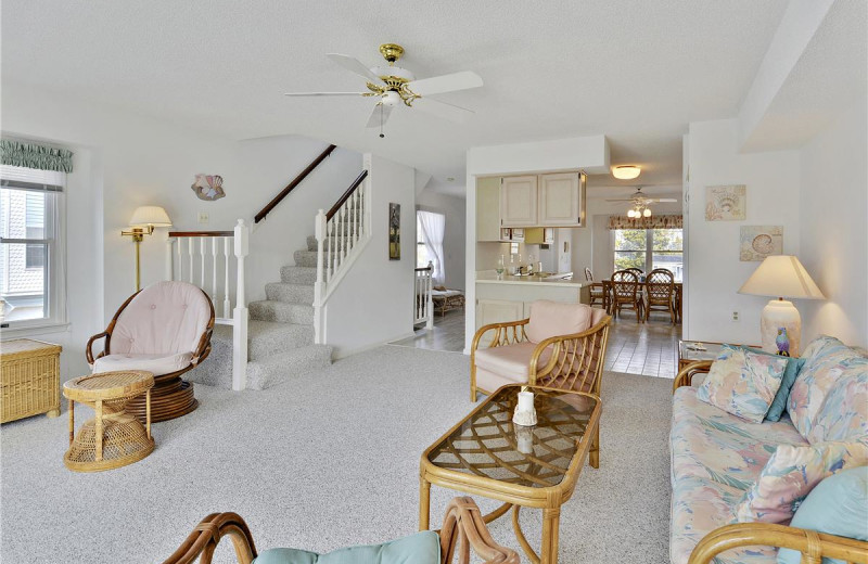Rental interior at Long & Foster Vacation Rentals -Bethany Beach.