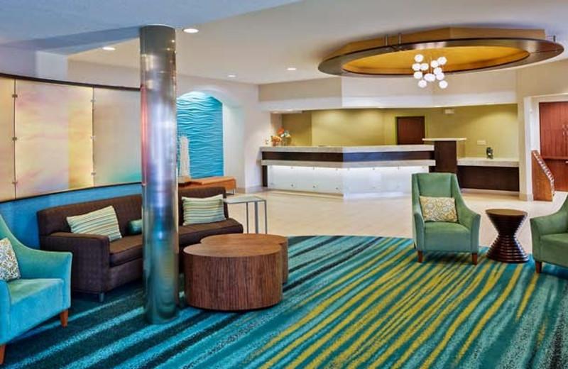 Lobby at SpringHill Suites San Diego Rancho Bernardo/Scripps Poway.