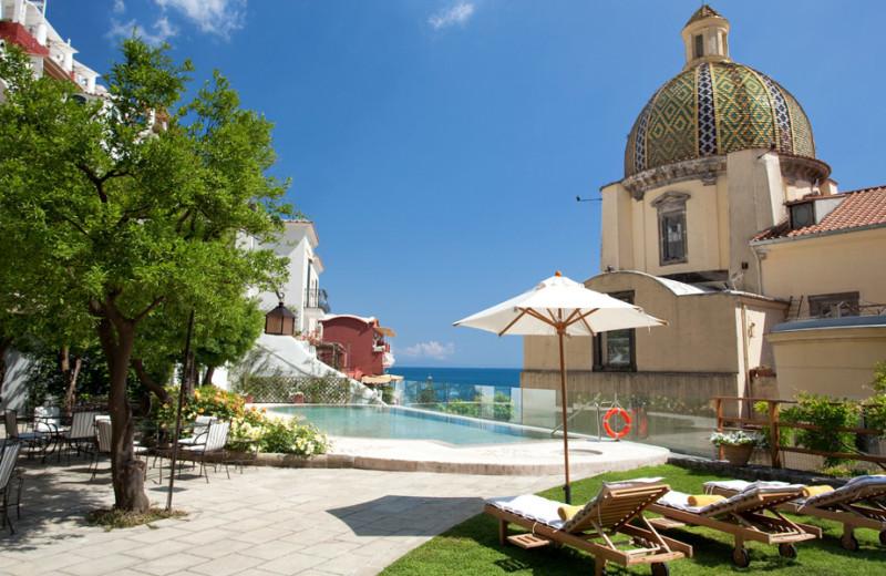 Outdoor pool at Hotel Palazzo Murat.