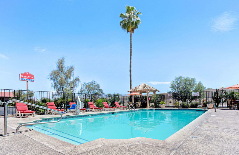 Outdoor pool at Ramada Limited Tucson West.