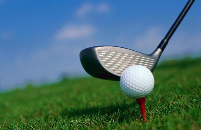 Golf course nearby Jackson Hole Lodge.