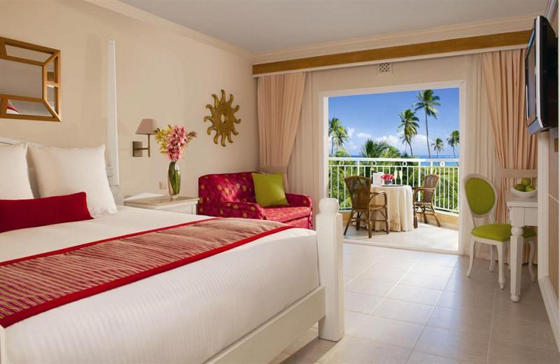 Guest room at Dreams Punta Cana Resort & Spa.