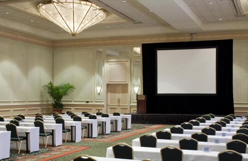Conference Setup at  The Westin Hilton