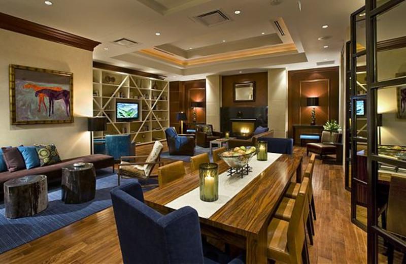 Hotel Lounge at JW Marriott Denver