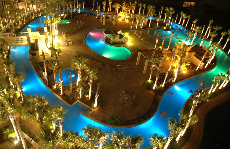 Outdoor Pool At Destin West Beach Bay Resort