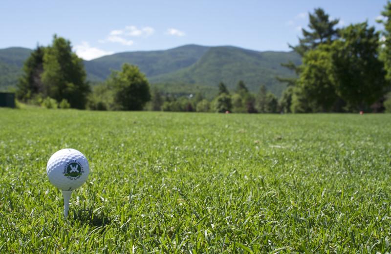 Golf course at Black Bear Lodge.