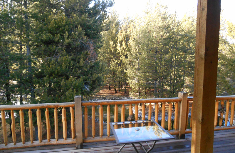 View from DiamondStone Guest Lodges.