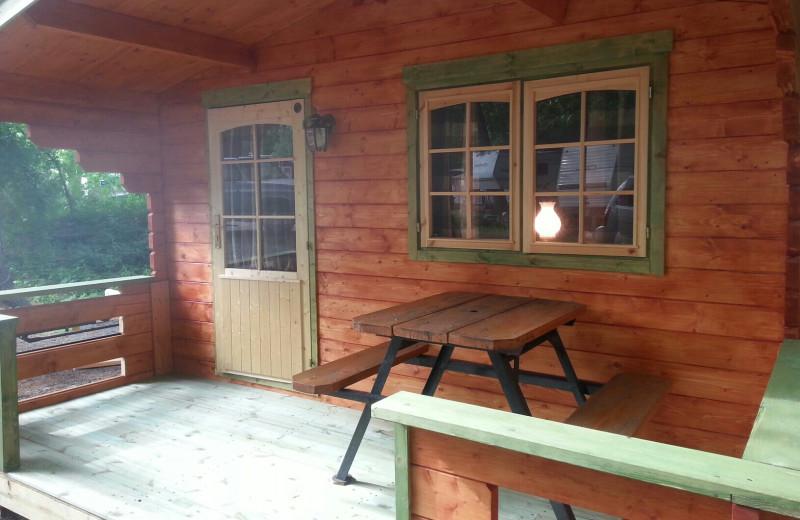 Cabin at Pocono Vacation Park.