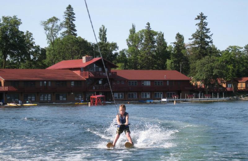Water skiing at Fair Hills Resort.