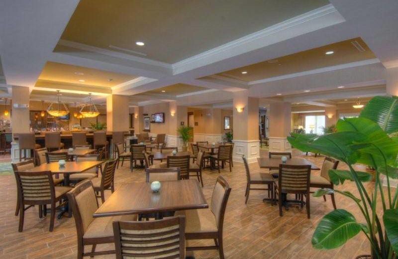 Dining room at Hampton Inn & Suites Jekyll Island.