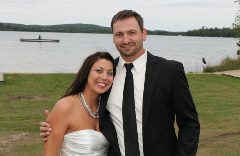Wedding at Thunder Lake Lodge.