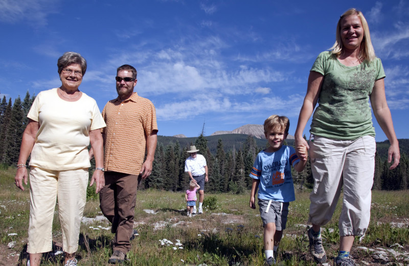 Family Hike at Durango Mountain Resort