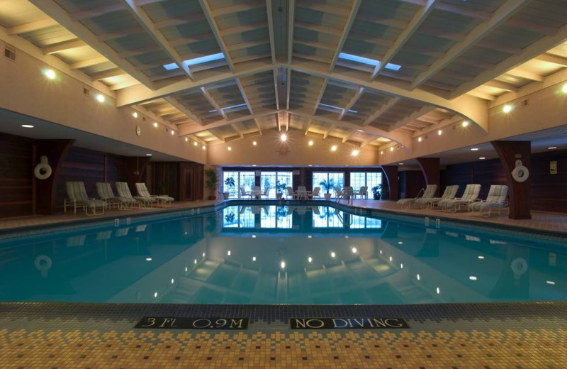 Indoor pool at The Kensington Court.