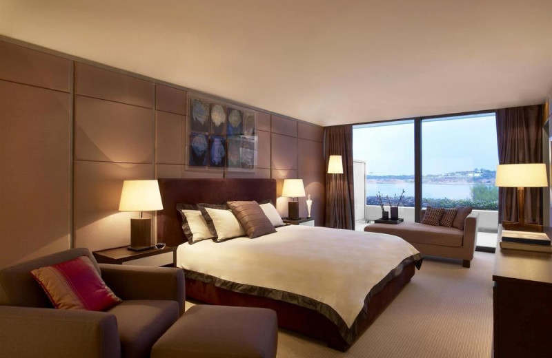Guest room at Astir Palace Resort and Hotels.