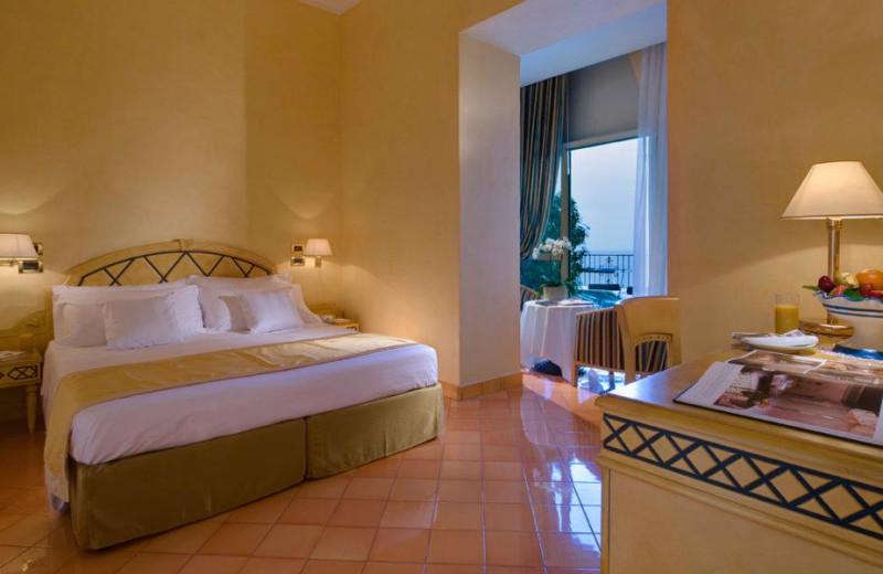 Guest room at Miramare e Castello Hotel.