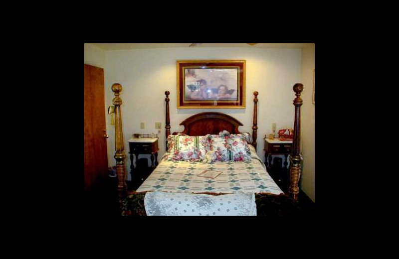 Guest room at Country Gardens Bed and Breakfast.