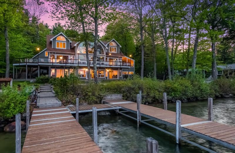 Rental exterior of At The Lake Vacation Rentals.