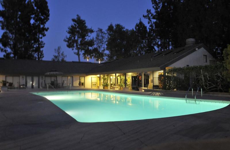 Outdoor pool at Tuscany Hills Resort.