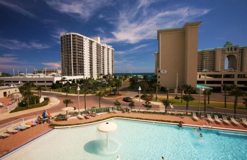 Resort view at Seascape Resort.