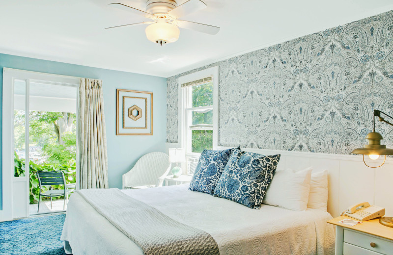 Lodge Room at Basin Harbor.
