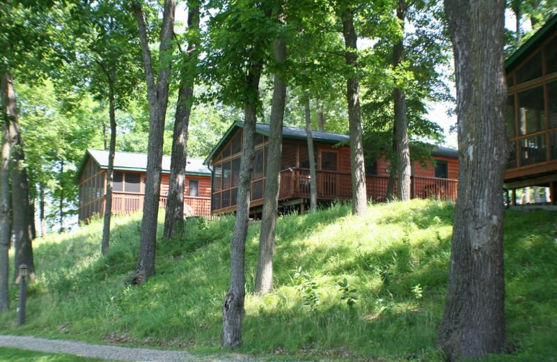 Cabins at Timberwoods Resort.
