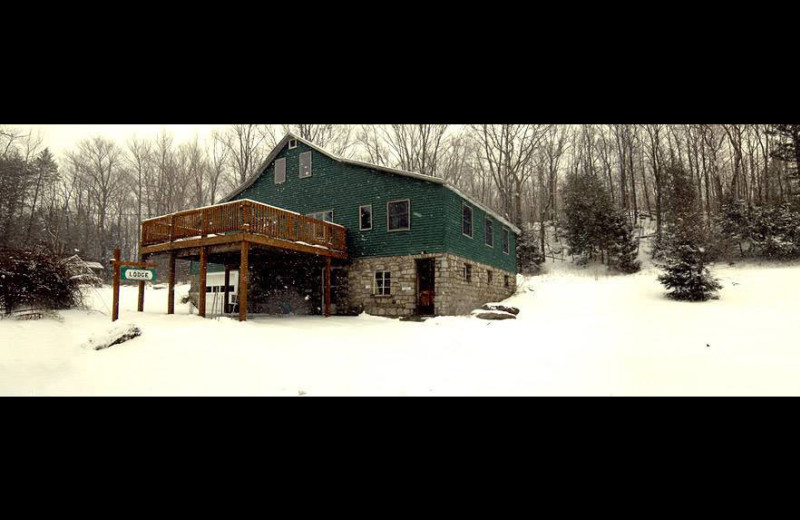 Winter time at Panther Lodging.