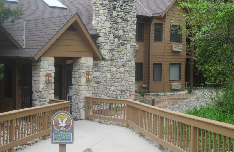 Exterior view of The Landing Resort.